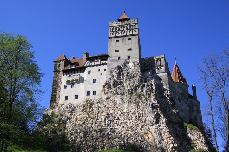 Salvado del castillo (Törzburg) - CASTILLO de DRÁCULA S imagen de archivo libre de regalías