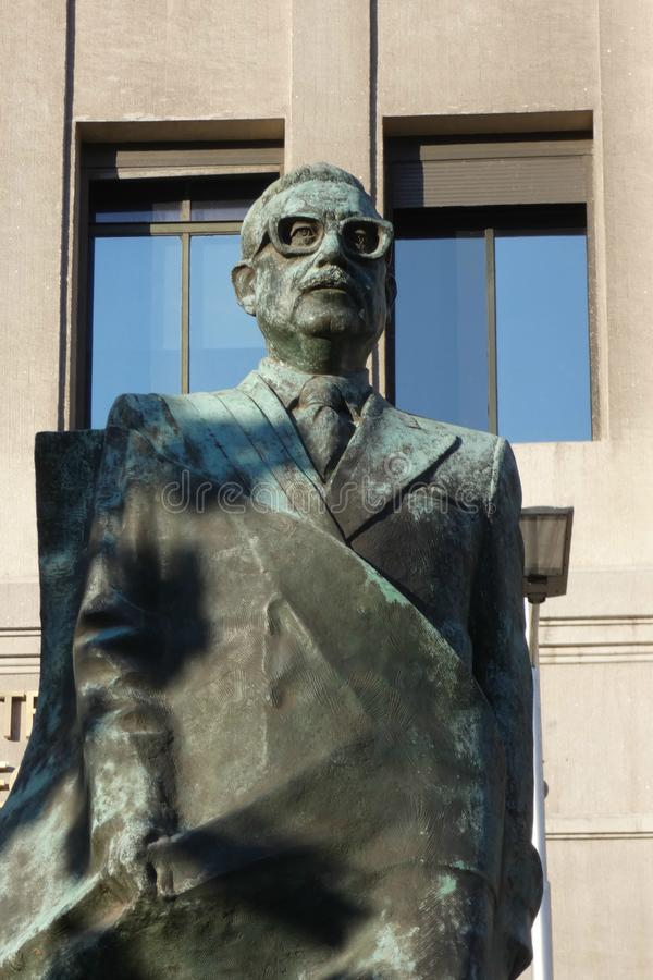Salvador Allende стоковое изображение