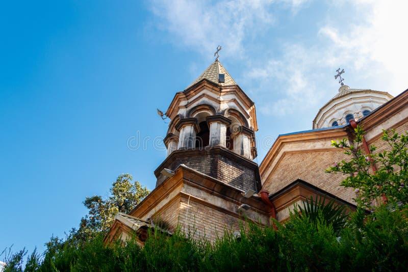 Salvador apostólico armenio del santo de Surb Cristo Amenaprkich de la iglesia en Batumi, Georgia imagen de archivo libre de regalías