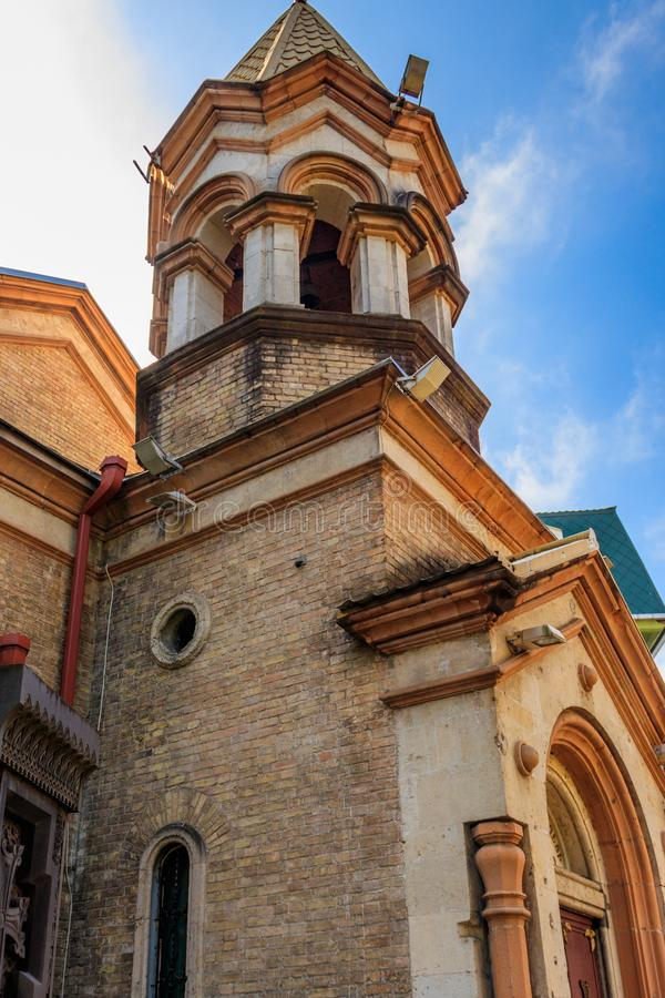 Salvador apostólico armenio del santo de Surb Cristo Amenaprkich de la iglesia en Batumi, Georgia imágenes de archivo libres de regalías