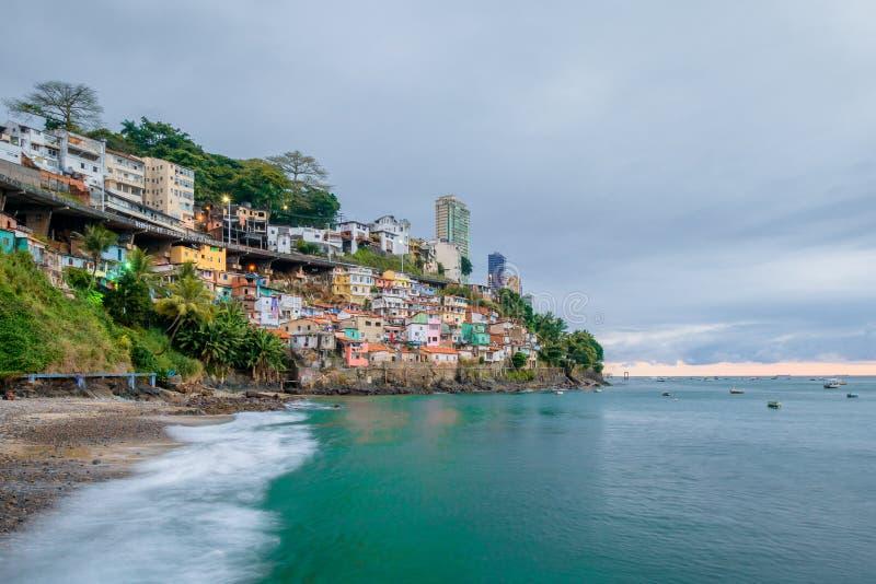 Salvador, Bahia †- 'Brazylia fotografia stock