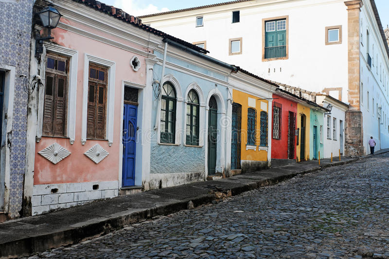 Salvador of bahia royalty free stock images