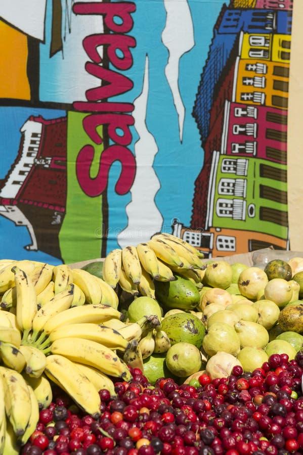 Salvador Brazil Bananas et Acerola Cherry Fruit photographie stock