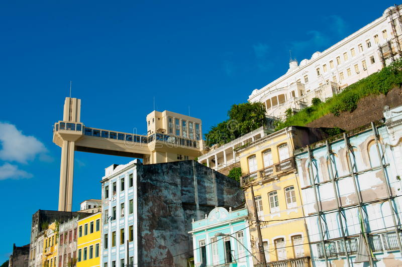 Salvador DA Bahia royalty-vrije stock afbeeldingen