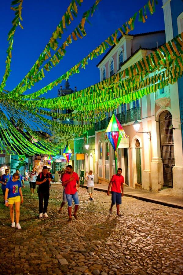 Salvador da Bahia fotografie stock