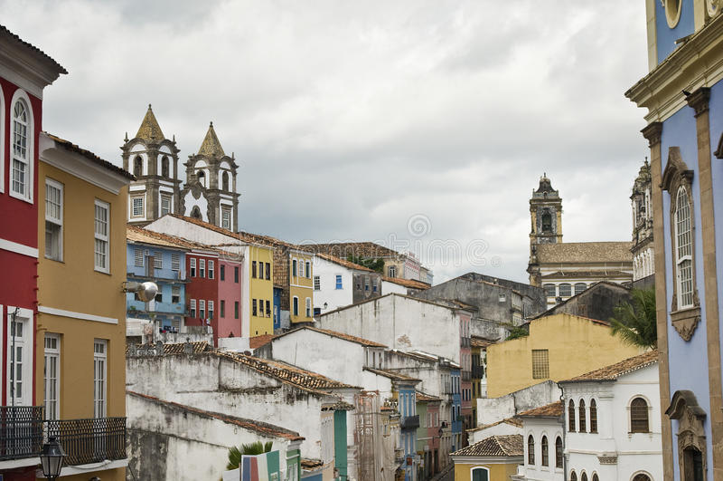 Salvador da Bahia, Brasilien arkivfoton