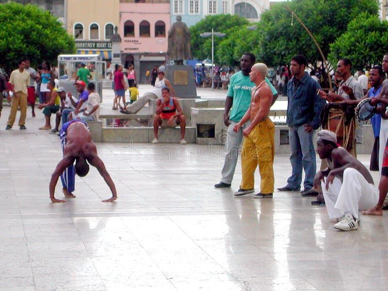 Salvador da Bahia capoeira - Brazil royalty free stock photography
