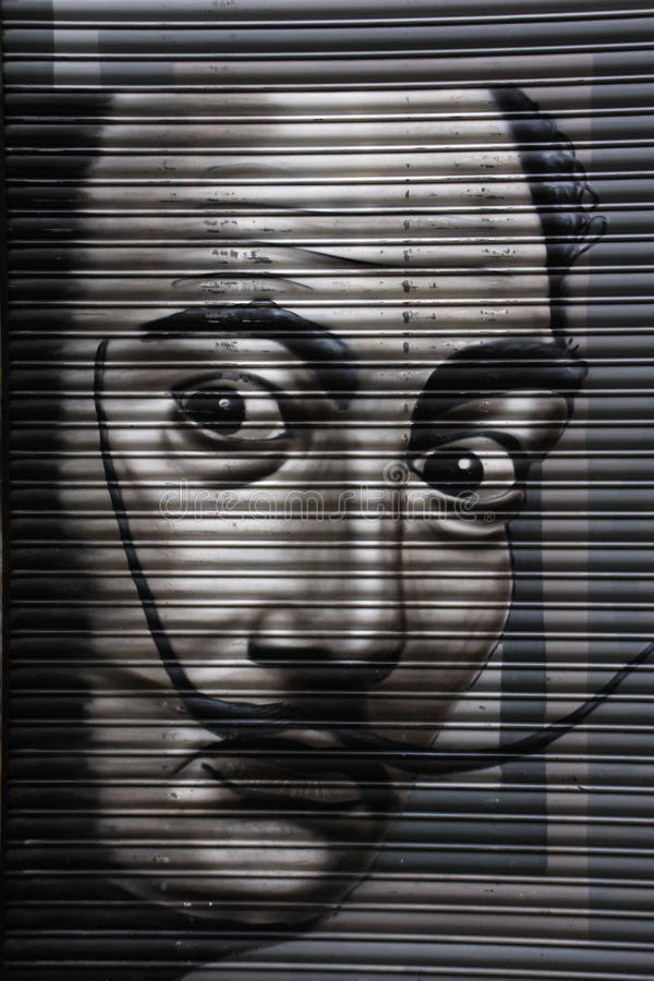 Salvador Dali fotografia stock