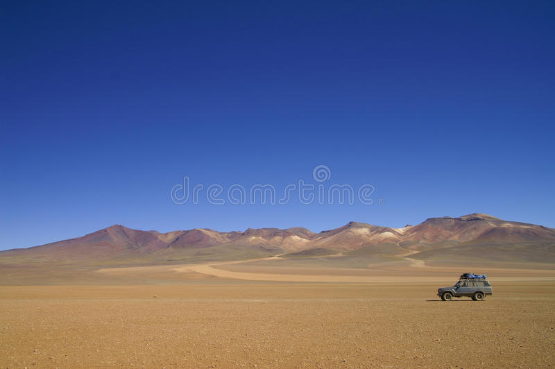 Salvador Dali Desert fotografering för bildbyråer