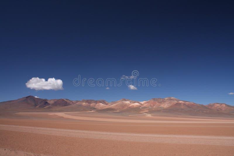 Salvador Dali Desert, Bolívia imagem de stock