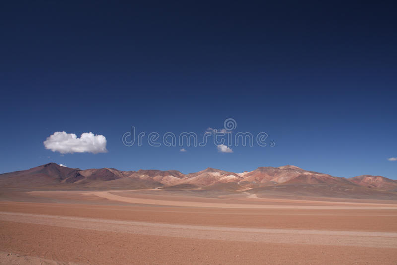 Salvador Dali Desert Bolivia fotografering för bildbyråer