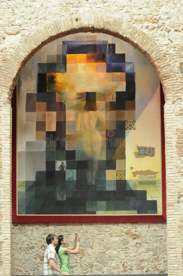 Download Salvador Dali famous paint editorial photography. Image of catalan - 22519042