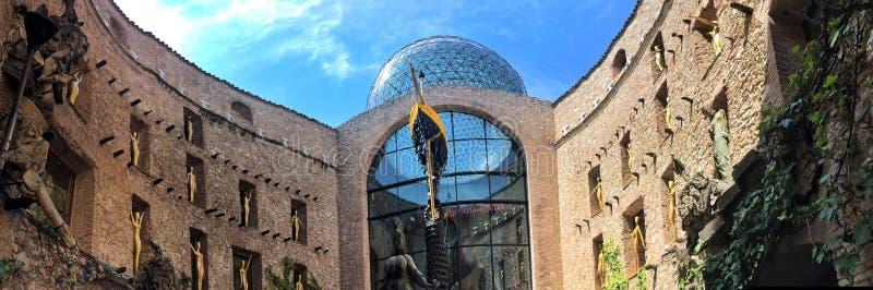 Salvador Dali Museum in Figueres stockbilder