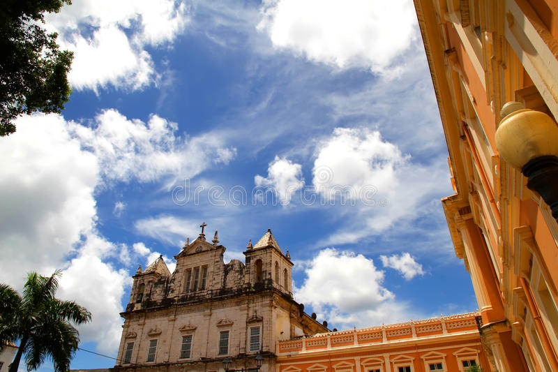 Salvador de Bahia. Historic buildings in Salvador de Bahia stock photography