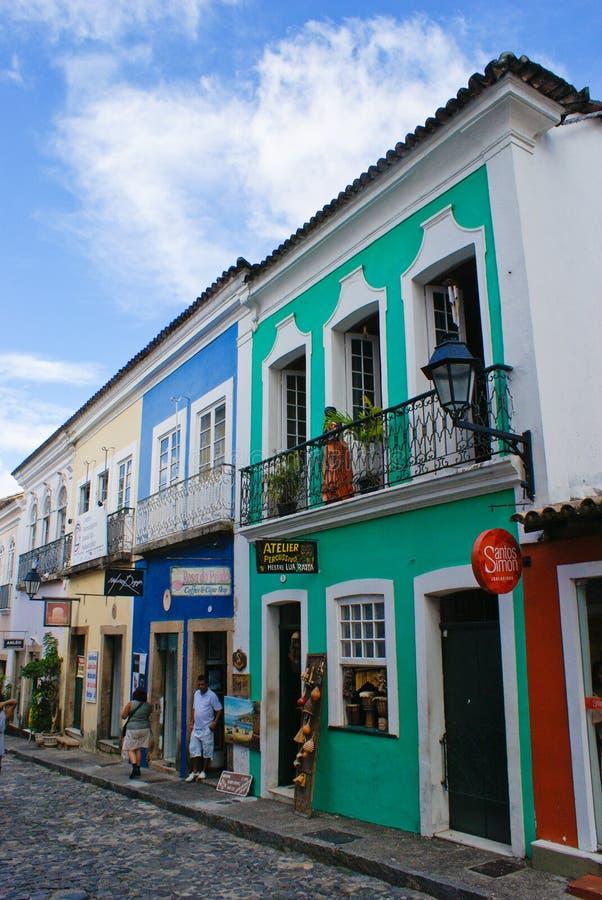 Salvador de Bahia fotografering för bildbyråer