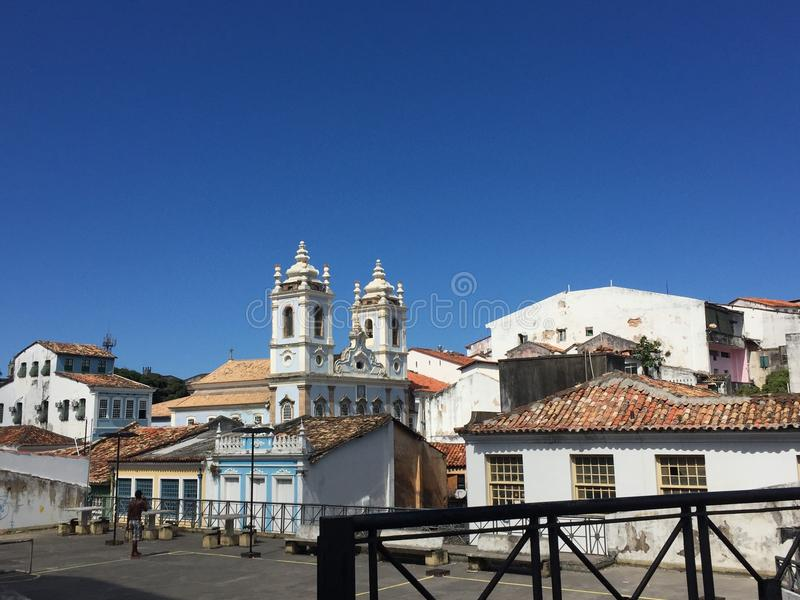 Salvador de Bahia stockfoto