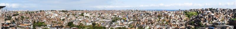 Salvador em Baía, vista panorâmica imagens de stock