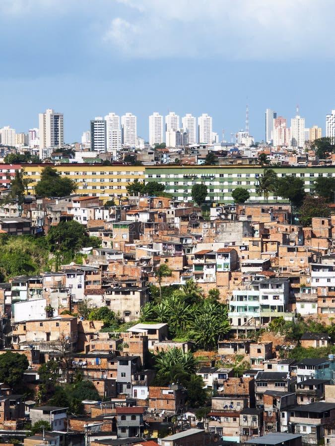 Salvador i Bahia, Brasilien royaltyfria bilder