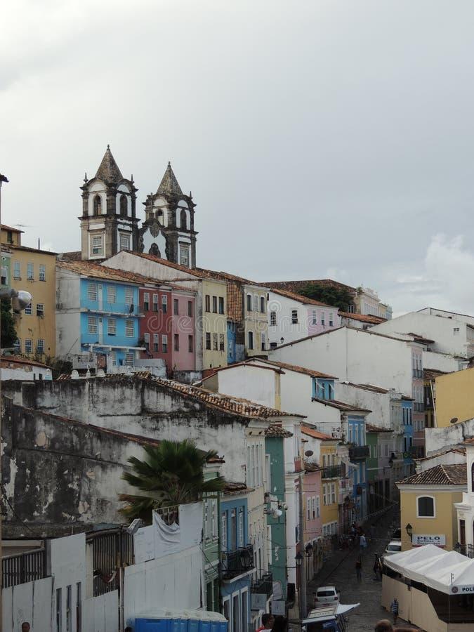 Salvador, Pelourinho, Brazylia - fotografia stock