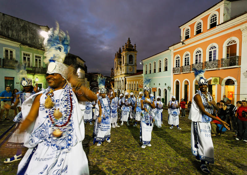 Salvador van Bahia royalty-vrije stock fotografie