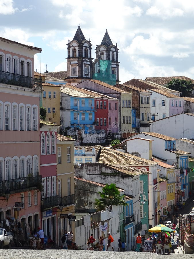 Salvador w Brazylia zdjęcie royalty free
