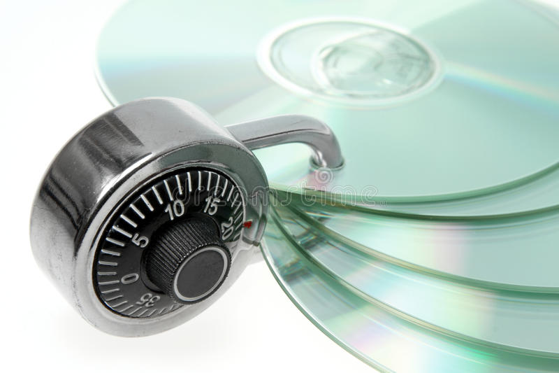 Salvaguardia de la seguridad foto de archivo