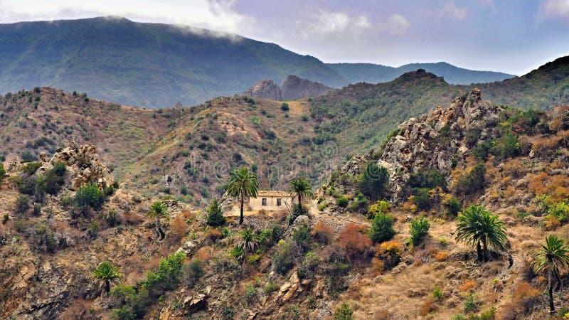 Salvaje al oeste de las Canarias 'La Gomera ' fotos de archivo libres de regalías