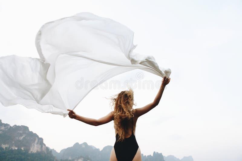 Salvaje y libere como el viento imagen de archivo