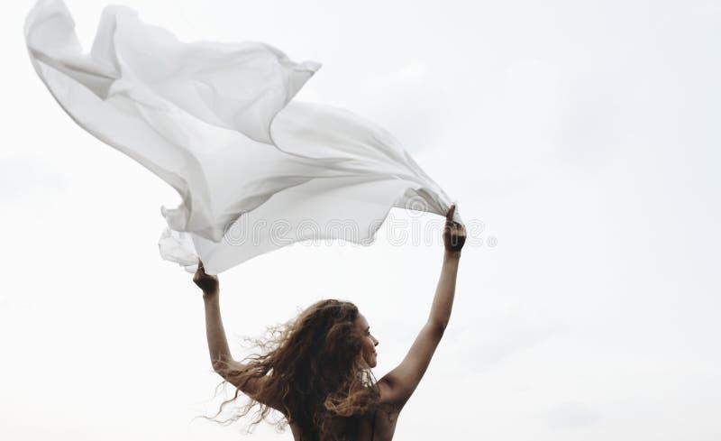 Salvaje y libere como el viento fotografía de archivo libre de regalías