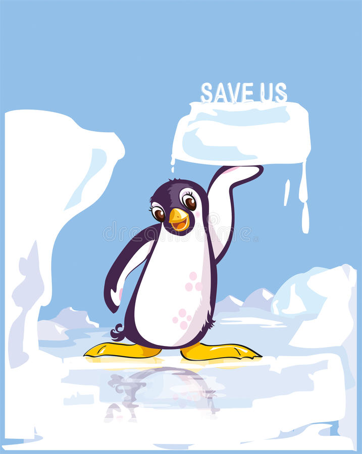 Salvar nos ilustração stock