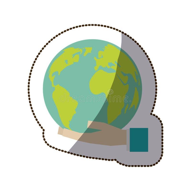 Salvar o mundo ilustração stock