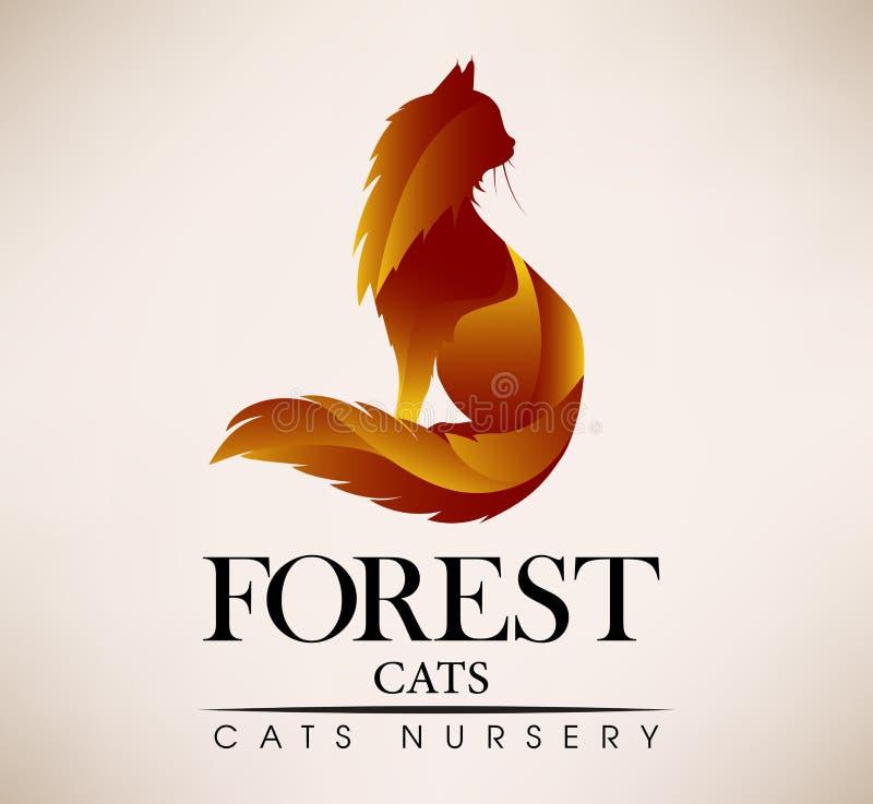 Salvataggio animale, veterinario, negozio Pets il logo illustrazione vettoriale