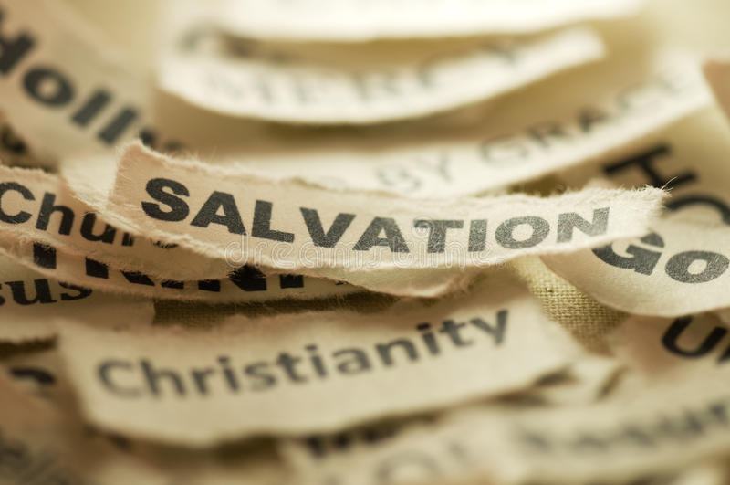 Download Salvation stock photo. Image of paper, nobody, ripped - 21585890