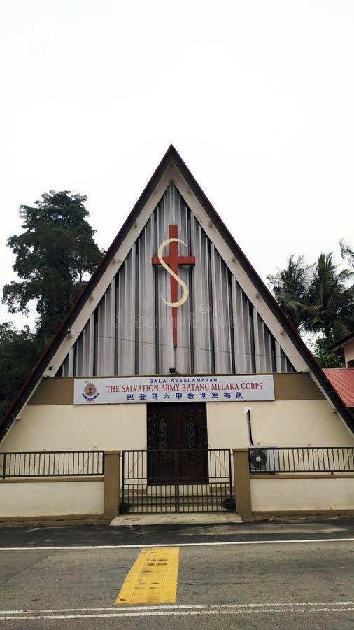 The Salvation Army Batang Malacca Corps royalty free stock photo