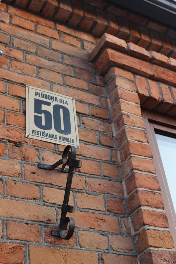 Salvation army Bauska. Pludonaiela50, houes, house, god, church, oldhouse, salvationarmy, pestisanasarmija, window, street, pludonastreet, latvia stock photography