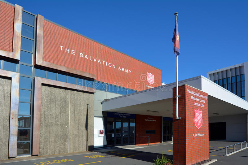 The Salvation Army center royalty free stock photography