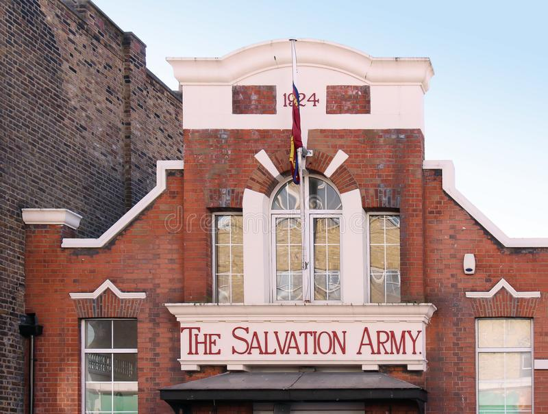 The Salvation Army in London stock photo