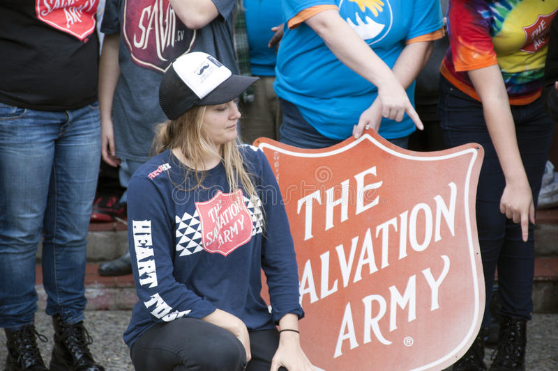 Download Salvation Army Volunteers editorial image. Image of seattle - 46105785