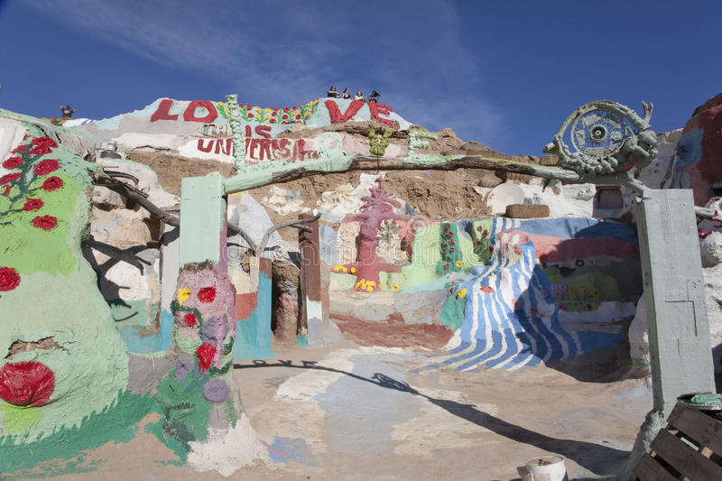 Download Salvation Mountain editorial stock photo. Image of national - 23698218