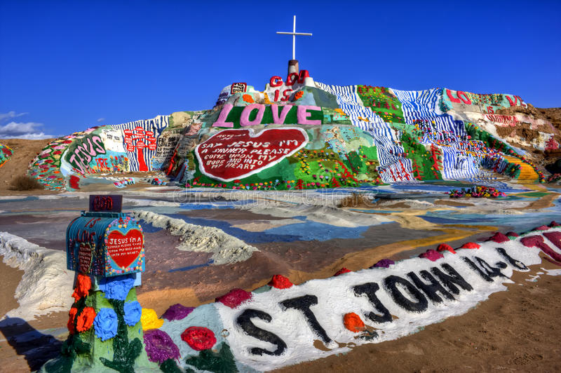 Download Salvation Mountain (HDR) Royalty Free Stock Photo - Image: 13170355