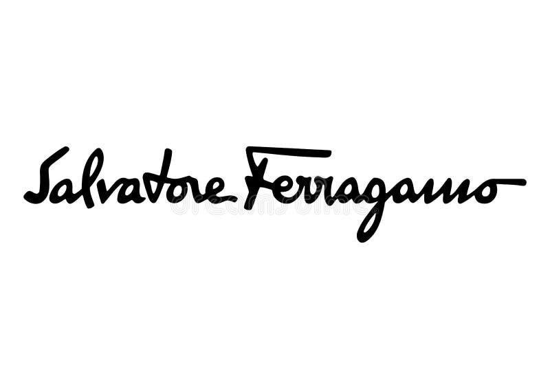 Salvatore Ferragamo logo stock images