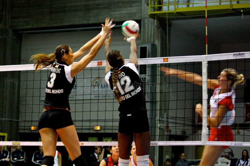 Salve - Volleyball alles Stern-Spiel 2008 stockbilder