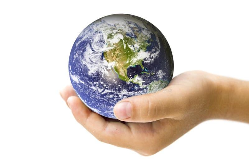 Salvo il concetto della terra immagine stock libera da diritti