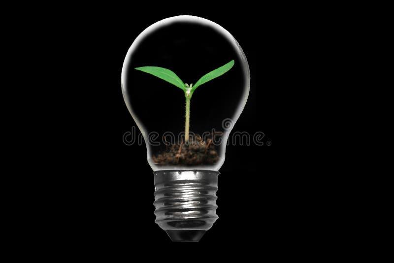 Salvo il concetto di energia fotografia stock libera da diritti