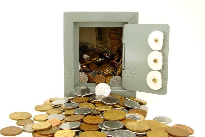 Salvo soldi immagini stock libere da diritti
