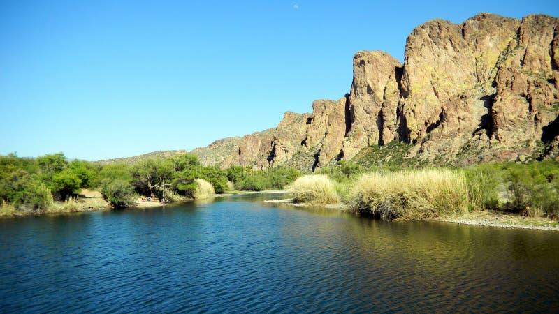 Salz-Fluss, Arizona lizenzfreie stockfotografie