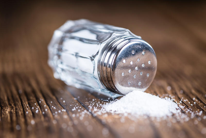 Salz-Schüttel-Apparat stockfotografie