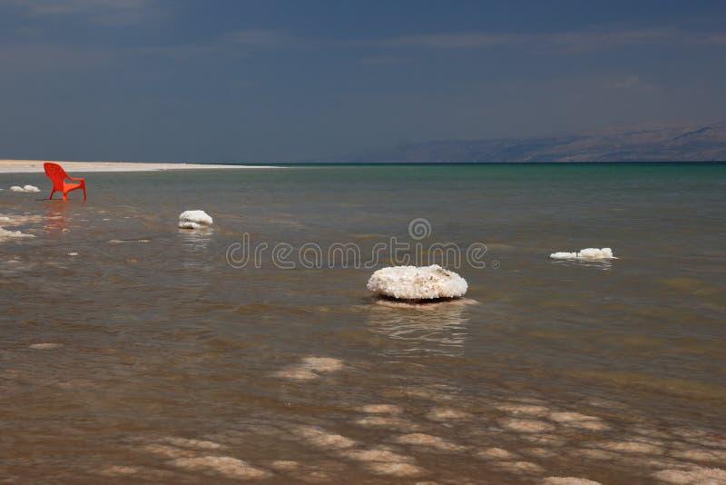 Salz, Totes Meer stockbilder