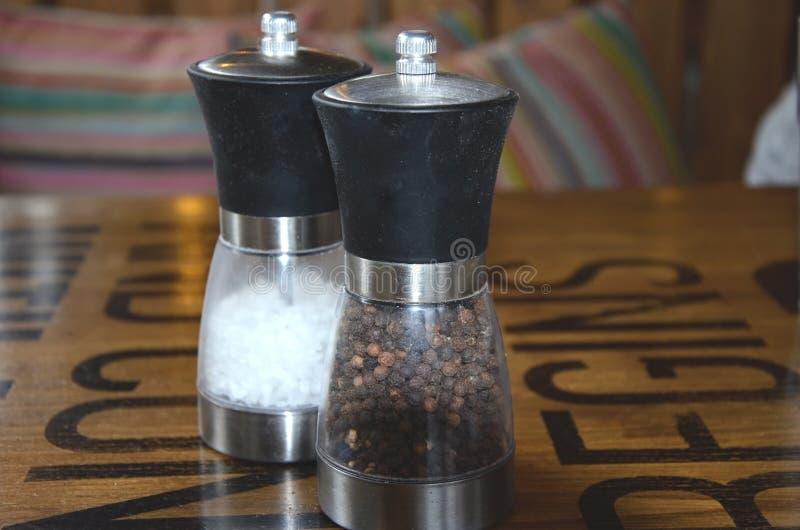 Salz und Pfeffer stockfotografie