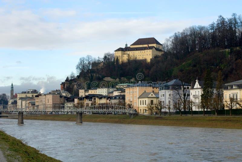 Download Salzach River, Salzburg, Austria Stock Photo - Image of austrian, luxurious: 18401380